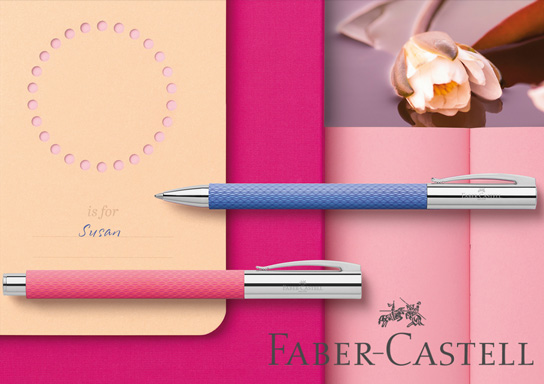 Faber-Castell Pink Sunset and Blue Ocean